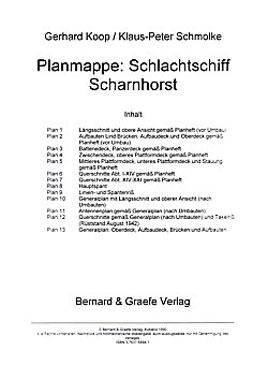 Planmappe: Schlachtschiff Scharnhorst - Mängelartikel_small