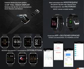 Smartwatch Fitness-Armbanduhr_small02
