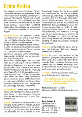 Echte Arnika - Mein Heilpflanzengarten_small01