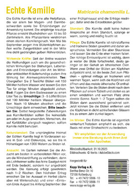 Echte Kamille - Mein Heilpflanzengarten_small01