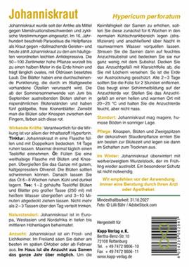 Johanniskraut - Mein Heilpflanzengarten_small01