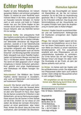 Echter Hopfen - Mein Heilpflanzengarten_small01
