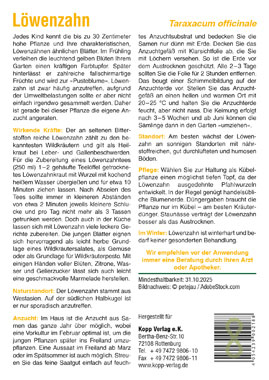 Löwenzahn - Mein Heilpflanzengarten_small01