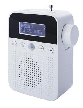 DAB+ Steckdosenradio mit Bewegungsmelder - Mängelartikel_small