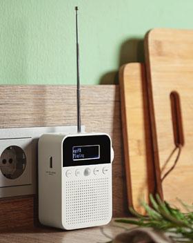 DAB+ Steckdosenradio mit Bewegungsmelder - Mängelartikel_small01