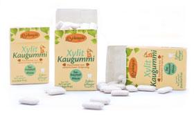 Birkengold ®  Xylit-Kaugummi Teebaumöl/Minze_small01