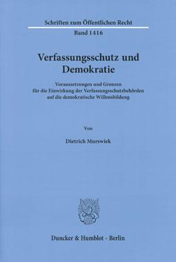 Verfassungsschutz und Demokratie_small
