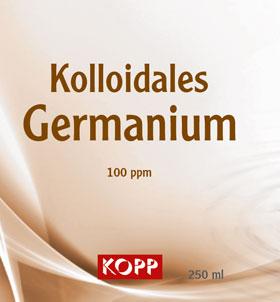 Kolloidales Germanium - Konzentration 100 ppm - 250 ml_small01