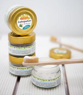 Birkengold® Zahnpulver Kräuter Glas mit 30 g_small01