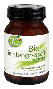 Kopp Vital Bio-Gerstengrassaft Kapseln_small