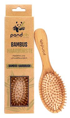 Pandoo Bambus-Haarbürste mit Naturborsten_small01