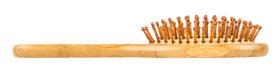 Pandoo Bambus-Haarbürste mit Naturborsten_small02