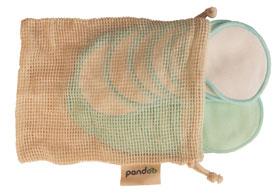 Pandoo wiederverwendbare Abschminkpads mit Aufbewahrungsbox aus Bambus_small02