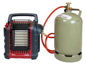 Mr. Heater Mobile Gasheizung inkl. Umrüstschlauch für Gasflasche_small01