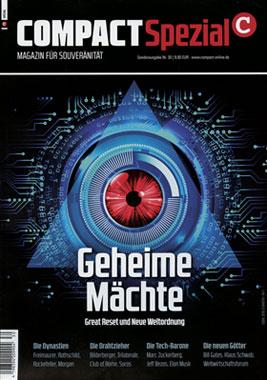 COMPACT-Spezial 30: Geheime Mächte. Great Reset und Neue Weltordnung_small