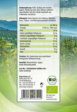 Kopp Vital Bio-Zedernüsse_small02