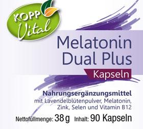 Kopp Vital Melatonin Dual Plus Kapseln_small01
