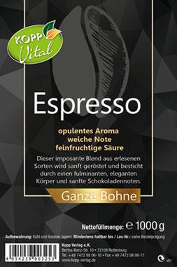 Kopp Vital Espresso - ganze Bohne_small01