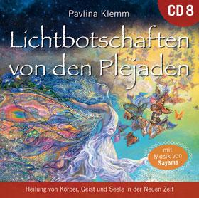 Lichtbotschaften von den Plejaden CD 8_small