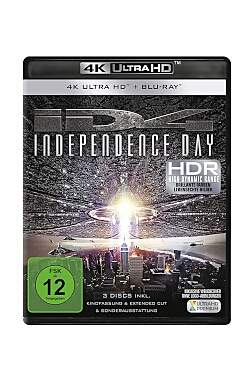 Independence Day 4K, UHD Blu-Ray - Mängelartikel
