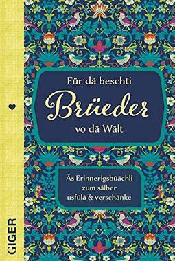 Für dä beschti Brüeder vo dä Wält - Mängelartikel
