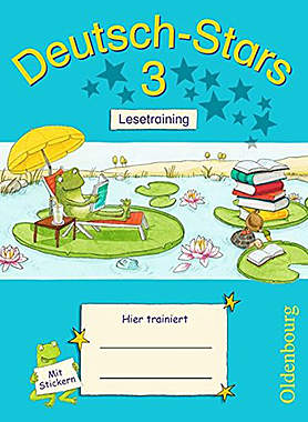 Deutsch-Stars - 3. Schuljahr Lesetraining: Übungsheft - Mängelartikel