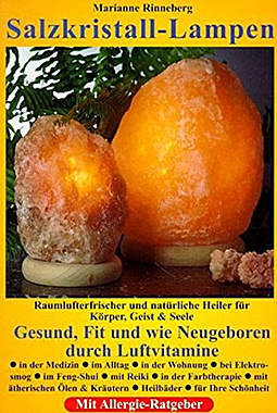 Salzkristall-Lampen:Raumlufterfrischer u. nat. Heiler für Körper..-Mängelartikel