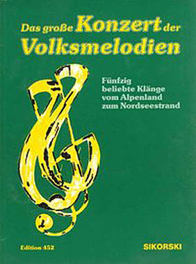 Das große Konzert der Volksmelodien - Mängelartikel - Cover leicht beschädigt