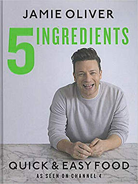 5 Ingredients - Quick & Easy Food - Mängelartikel - Cover leicht beschädigt