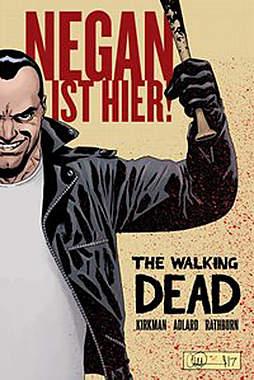 The Walking Dead: Negan ist hier! - Mängelartikel - Cover leicht beschädigt
