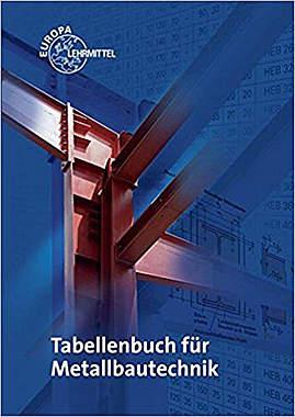 Tabellenbuch für Metallbautechnik - Mängelartikel - Cover leicht beschädigt