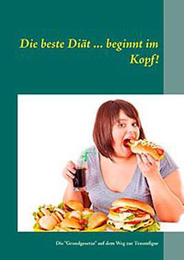 Die beste Diät ... beginnt im Kopf! - Mängelartikel- Cover leicht beschädigt