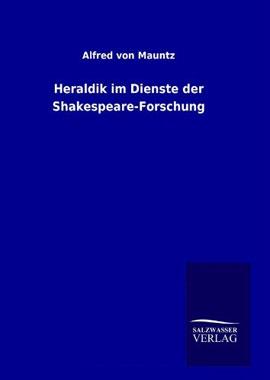 Heraldik im Dienste der Shakespeare-Forschung - Mängelartikel_small