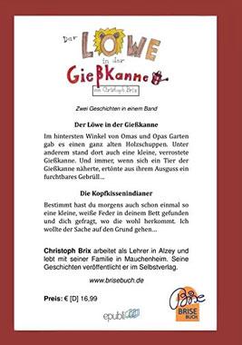 BriseBuch / Der Löwe in der Gießkanne - Mängelartikel_small01