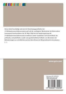 Die Entstehungsgeschichte der UN-Behindertenrechtskonvention - Mängelartikel_small01