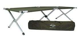 Mil-Tec® Feldbett US Typ Alu mit Tasche - 190 x 65 cm_small