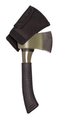 Mil-Tec® Vollstahlaxt mit Kopftasche oliv_small
