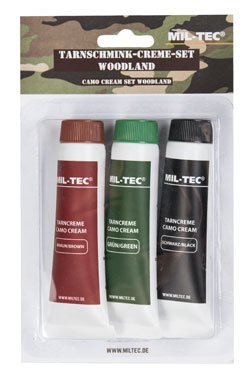 Mil-Tec® Tarnschmink-Creme-Set woodland_small