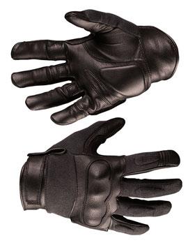 Taktische Handschuhe Leder / Aramid_small