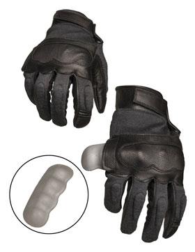 Taktische Handschuhe Leder / Aramid_small01