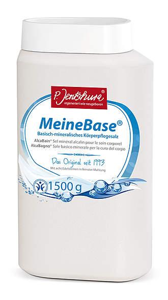 Jentschura ®  MeineBase mit 8 Edelsteinen, 1500 g - vegan