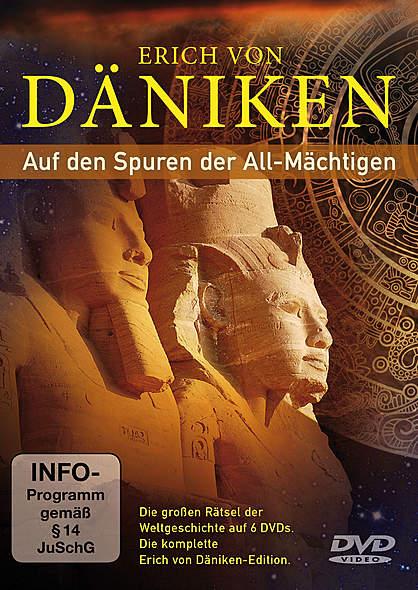 Auf den Spuren der All-Mächtigen - DVD von Erich von Däniken | Kopp Verlag
