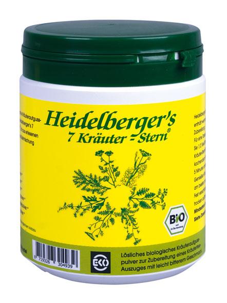 Heidelberger's 7 Kräuter-Stern 250g - vegan (bio)