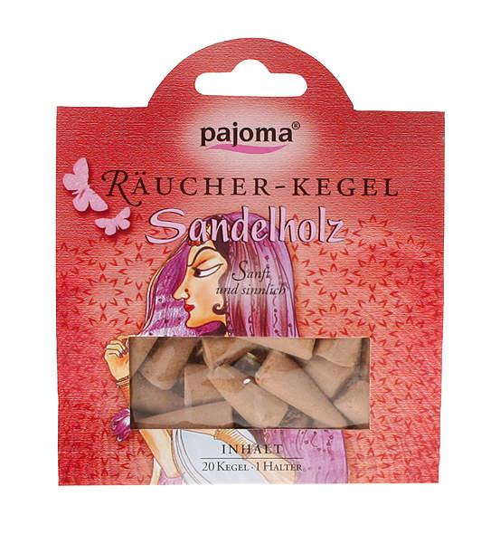 Pajoma Sandelholz Räucher-Kegel