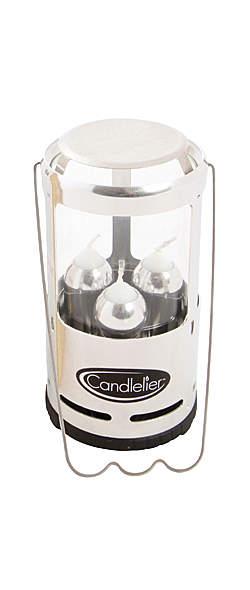 Uco Candlelier Laterne mit Kerzen - bis 24 Stunden Brenndauer