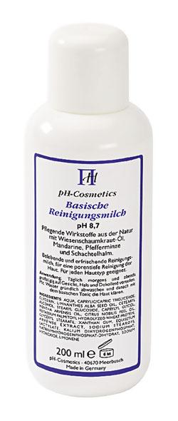 Basische Reinigungsmilch (pH 8,7)