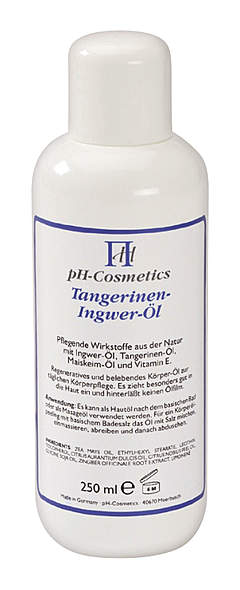 Tangerinen-Ingwer-Öl