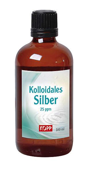 Kolloidales Silber 25ppm, 100 ml