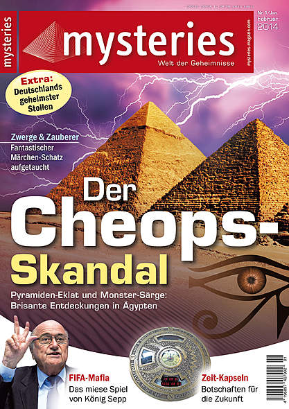 mysteries Ausgabe Januar/Februar 2014