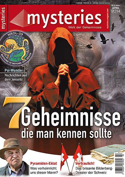 Mysteries Ausgabe März/April 2014